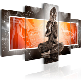 nr16 Buddha Oranje