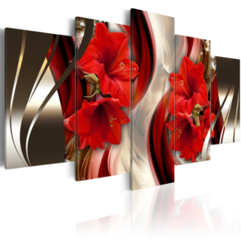 644 Rode Bloemen