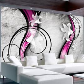 Bloemen Roze Modern nr 217
