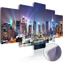 41 New York Skyline Acrylglas Schilderij