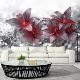 Modern Bloemen Rood nr 540