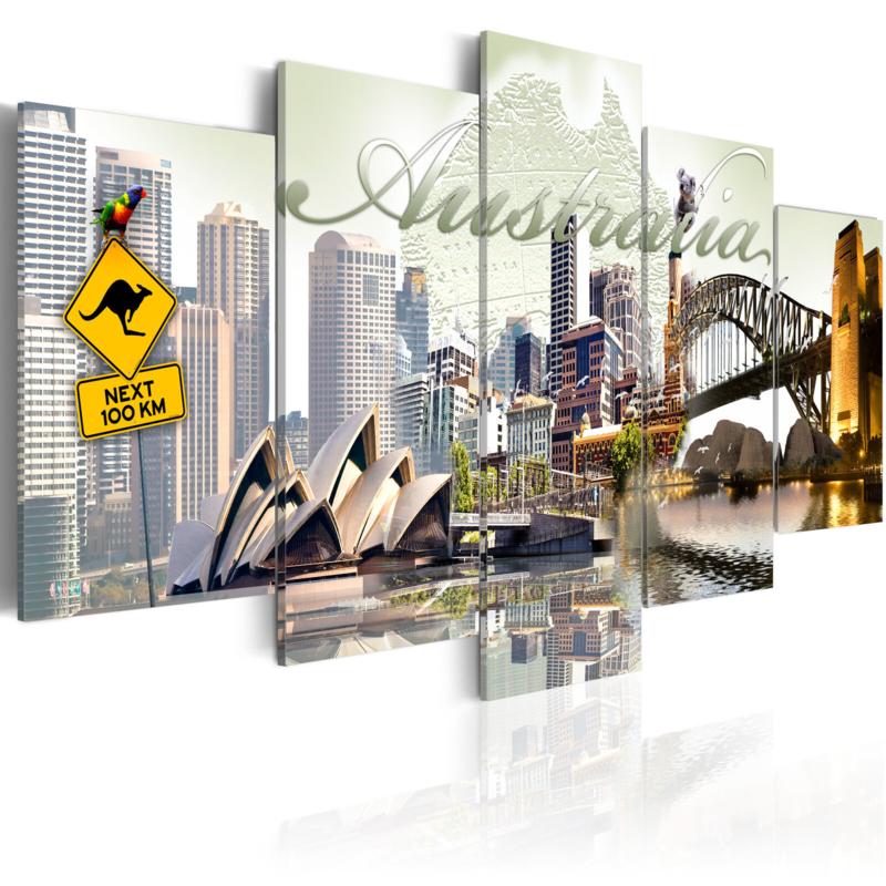 968 Collage Australie