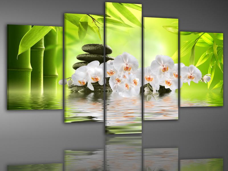 Bamboe Orchidee 200x100cm