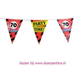 Vlaggenlijn 70 jaar PARTYTIME