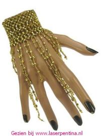 Armband met gouden Steentjes