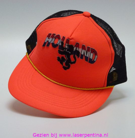 Baseballcap Holland oranje Leeuw