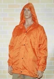 Windjack gevoerd oranje