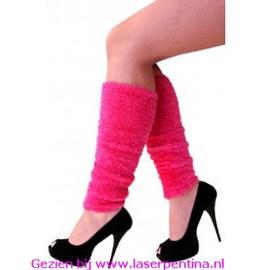 Beenwarmers Softy  roze