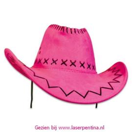 Cowboyhoed roze