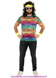 T-Shirt neon Tijger unisex