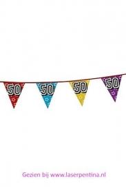Vlaggenlijn Holographic '50'