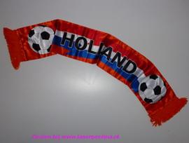 Sjaal Holland rd/wt/blw/oranje
