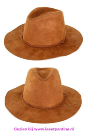 Cowboyhoed Indiana bruin