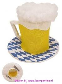 Oktoberfest hoedje met haarspeld