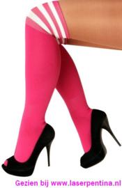 Kousen Lies fluor pink