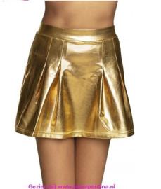 Minirokje Shiny gold