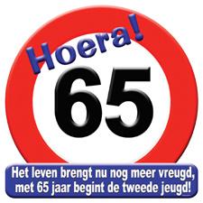 Verkeersbord '65'