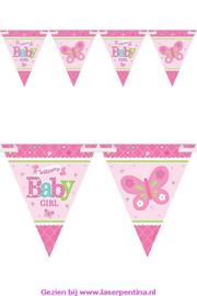 Vlaggenlijn Pennant Baby Girl