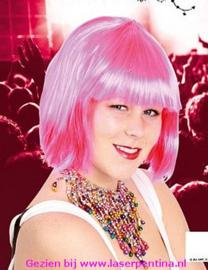 Bobline Pruik Sensation pink
