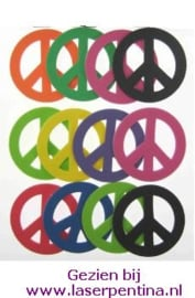 Foam Stickers Peace