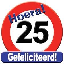 Verkeersbord '25'