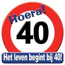 Verkeersbord '40'