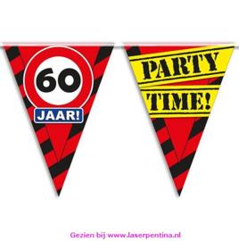 Vlaggenlijn 60 jaar PARTYTIME