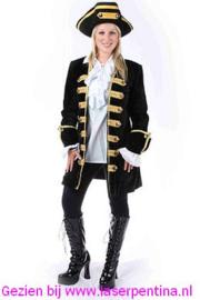 Piraten Jas zwart