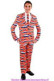 NL oranje Kostuum 3-delig