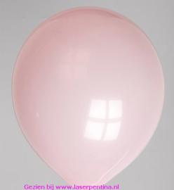 """Effen kleur ballon pastel pink 12"""""""