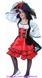 Piratenmeisje Jurk