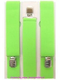 Bretel fluor groen