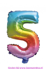 "Folie Ballon Cijfer ""5"""