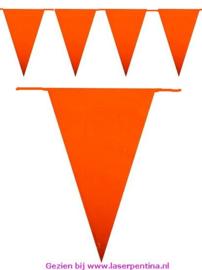 Vlaggenlijn oranje 6 mtr.