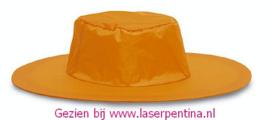 Cowboyhoed oranje vouwbaar