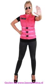 S.O. W.H.A.T Vest pink Dames
