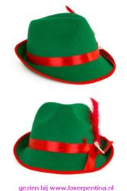 Tirolerhoed Heren groen populair