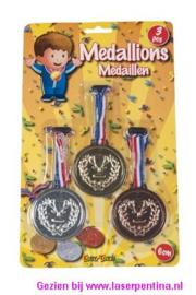Medailles 6 cm