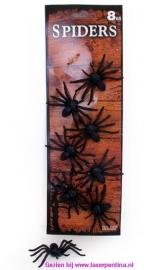 Spinnen zwart