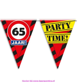 Vlaggenlijn 65 jaar PARTYTIME