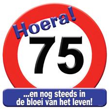 Verkeersbord '75'