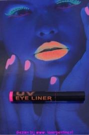 UV Neon Eyeliner pink