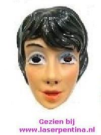 Vrouw  Masker zwart