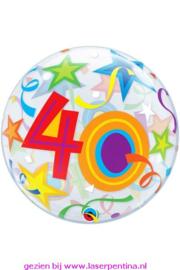 """Folie Ballon BUBBLE  Ø56 cm  """"40"""""""