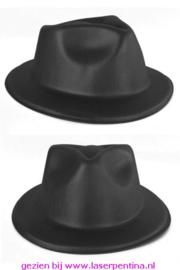 Deukhoed vinyl zwart