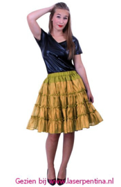 Tule Rok/Petticoat  goud