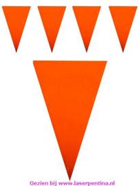 Vlaggenlijn oranje kleurecht