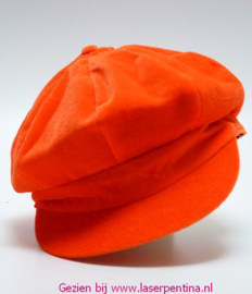 Achtpandspet oranje