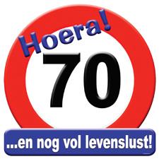 Verkeersbord '70'