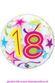 """Folie Ballon BUBBLE  Ø56 cm  """"18"""""""